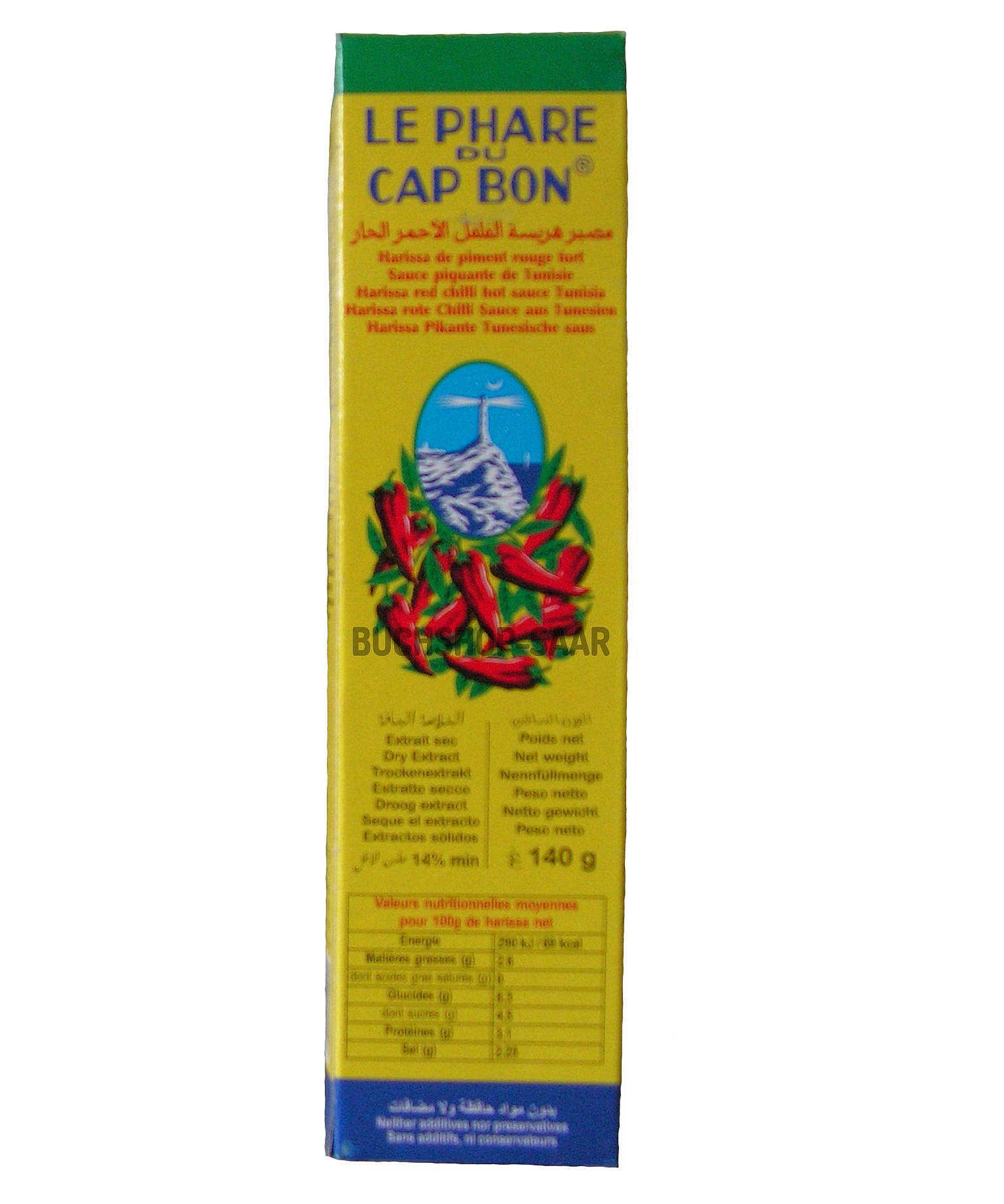 2 X 140 G Tube Harissa Pasta Di Spezie Rosso Piccante